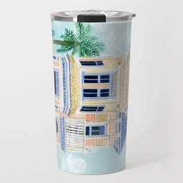 Little Victorian House Travel Mug