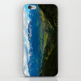 Gore Range with ranches below iPhone Skin