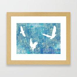 Ecotone (day) Framed Art Print