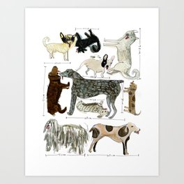 Dogs' Specificity Art Print