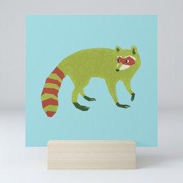 Raccooooooon Mini Art Print