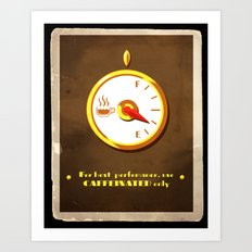The Coffee Meter Art Print