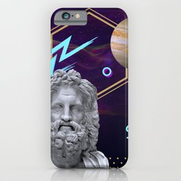 Ancient Gods and Planets: Jupiter iPhone Case
