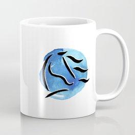 Spirit Horse {Blue Watercolor} Coffee Mug