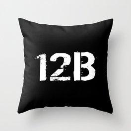 12B Combat Engineer Throw Pillow