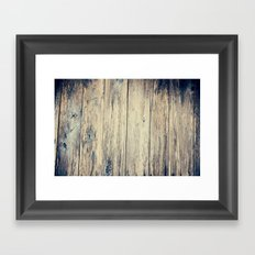 Wood Photography II Framed Art Print