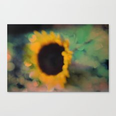 Sunflower III (mini series) Canvas Print