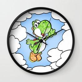 Yoshi in the sky !  Wall Clock