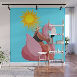 Time you enjoy wasting is not wasted time. Wall Mural