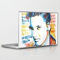 elvis Laptop & iPad Skins featuring Elvis by Phil Fung