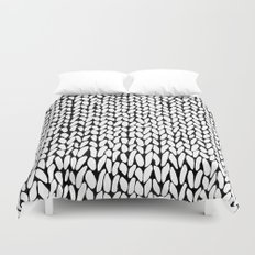 Hand Knitted Loops Duvet Cover