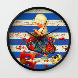 THE LITTLE LADY VII Wall Clock