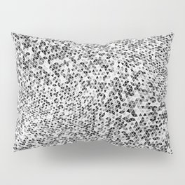 Triangles, Seed 37, Gradient 1.0 Pillow Sham