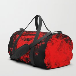 Gothic Bloody Kiss Duffle Bag