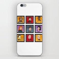 The Family Star Trek Bunch: Next Generation iPhone & iPod Skin