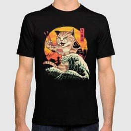 Neko Sushi Wave T-shirt
