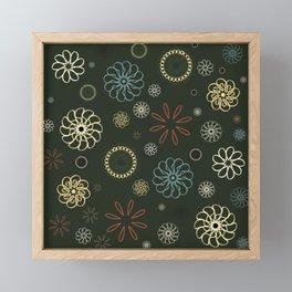 Assorted Flowers V2 Framed Mini Art Print