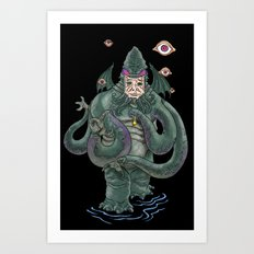 The Octopus Art Print
