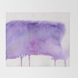 Liquid galaxy Throw Blanket