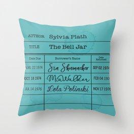 SYLViA PLATH (1963) Throw Pillow