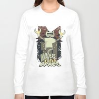 outer space Long Sleeve T-shirts featuring Invaders from outer space by Tshirt-Factory