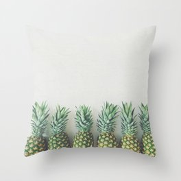 It's All About the Pineapple Throw Pillow