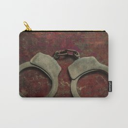 Rusty handcuffs Carry-All Pouch