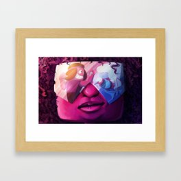 Garnet Framed Art Print