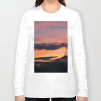 twilight Long Sleeve T-shirts featuring Twilight by Stephen Linhart