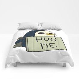 Penguin - Hug Me ! Comforters