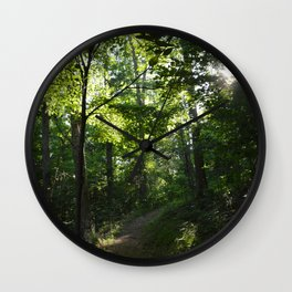 Ozark Sun Wall Clock