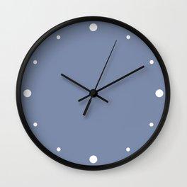 Lilac (Purple) Ice Cream Color Wall Clock