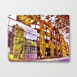 The Living Wall Metal Print