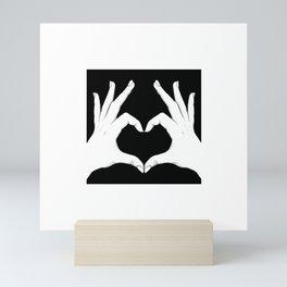 Love Hands Mini Art Print