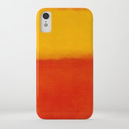 1956 Orange and Yellow by Mark Rothko HD iPhone Case