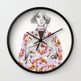 Try it on, Girl! Wall Clock