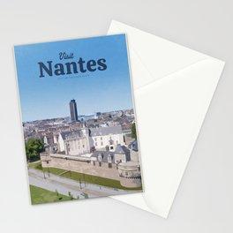 Visit Nantes Stationery Cards