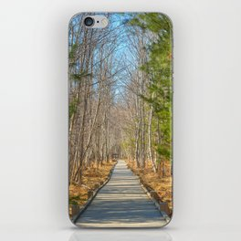 Jesup Boardwalk Trail iPhone Skin
