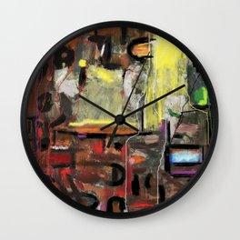 Labyrinthe of Life Wall Clock
