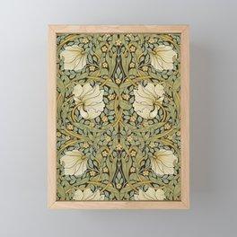 William Morris Pimpernel Art Nouveau Floral Pattern Framed Mini Art Print
