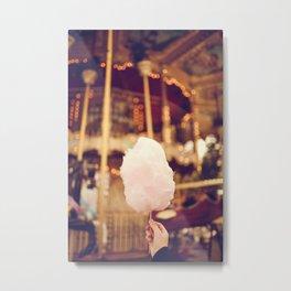 Fairy Floss Metal Print