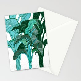 TROPICAL PLANTS Stationery Cards