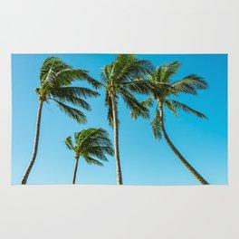 Coconut Palm Trees Rug