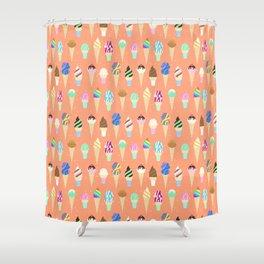 Stardust Sorbet Shower Curtain