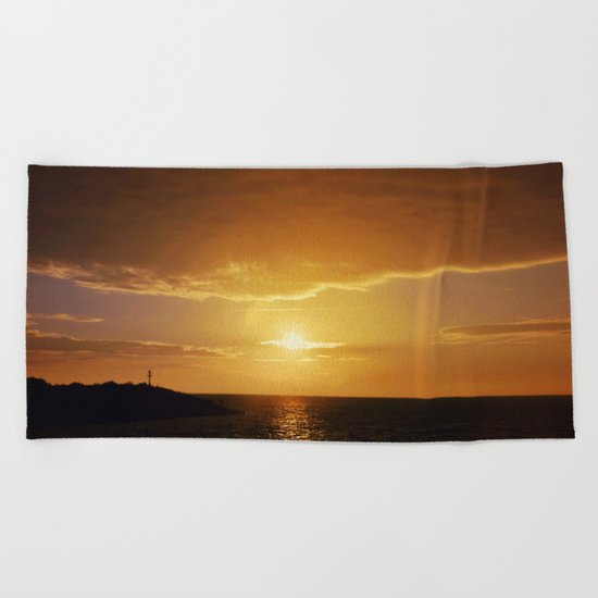 City Sunlight #2 Beach Towel