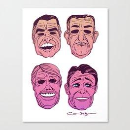 POINT BREAK SERIES - The Ex Presidents Canvas Print