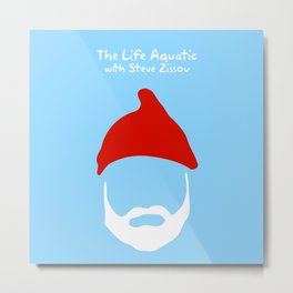 The Life Aquatic with Steve Zissou Metal Print