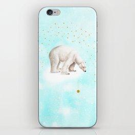 Wish upon a star polar bear iPhone Skin