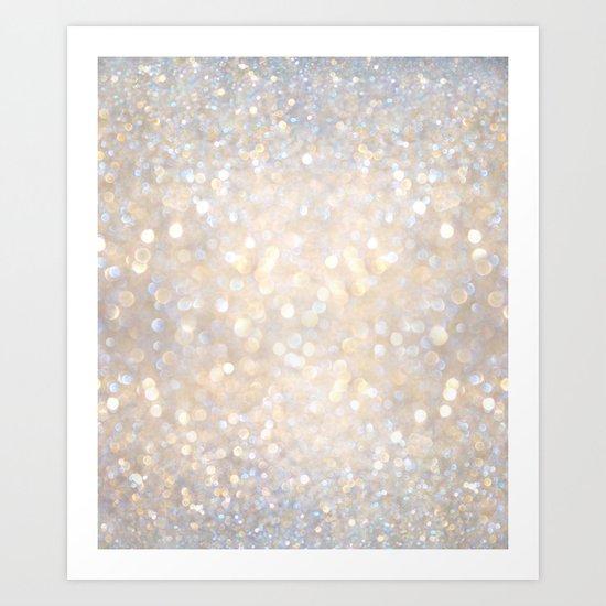 Glimmer of Light II Art Print