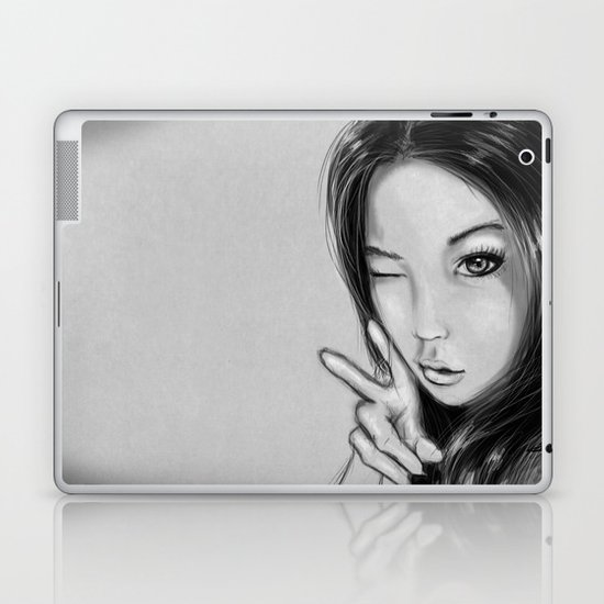 Japan Girl Laptop & iPad Skin